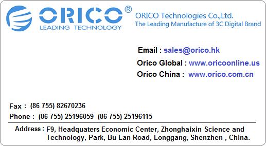 Orico_Contact_Card