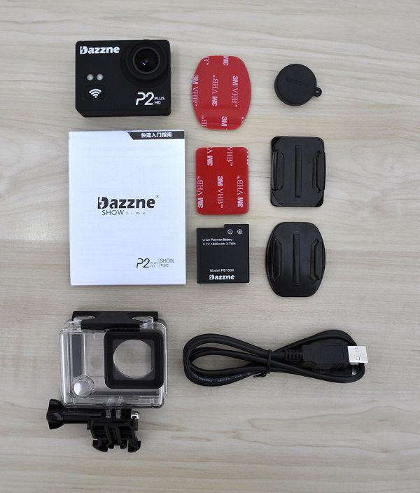 Dazzne_P2_Plus_Action_Camera_All_Items
