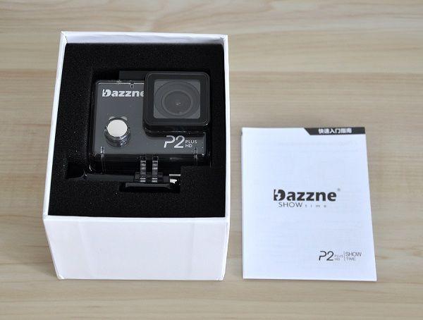 Dazzne_P2_Plus_Action_Camera_Unbox