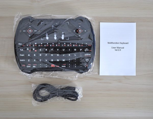 Zoweetek_i28_Wireless_Keyboard_Unboxing