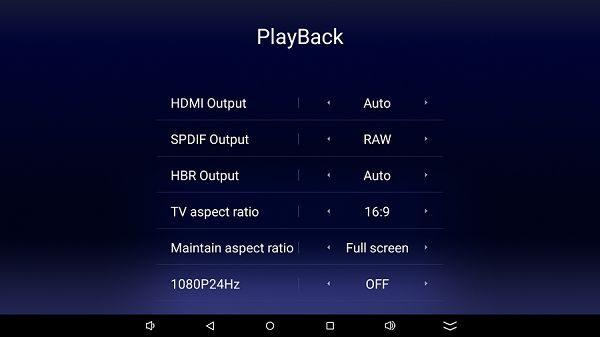 HiMedia Q10 Pro Playback