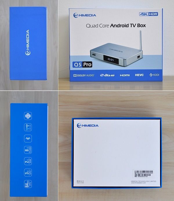 HiMedia-Q5-Pro-Android-TV-Box-Package