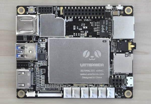 LattePanda Windows IoT Board Top
