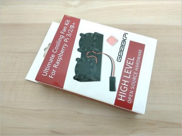 Raspberry Pi 3 / 2 Best Cooling Fan Kit 3