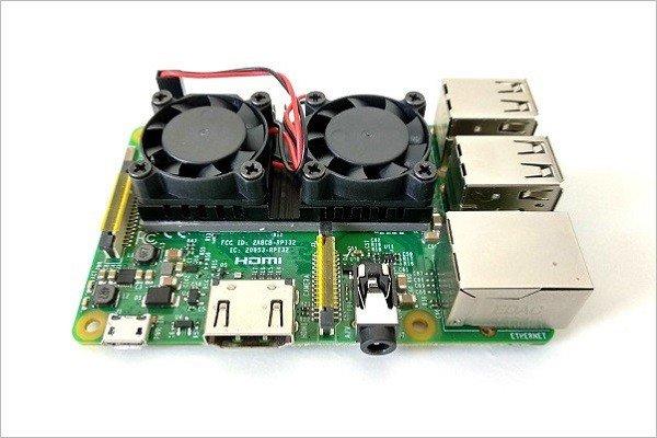 Raspberry Pi 3 / 2 Best Cooling Fan Kit 18
