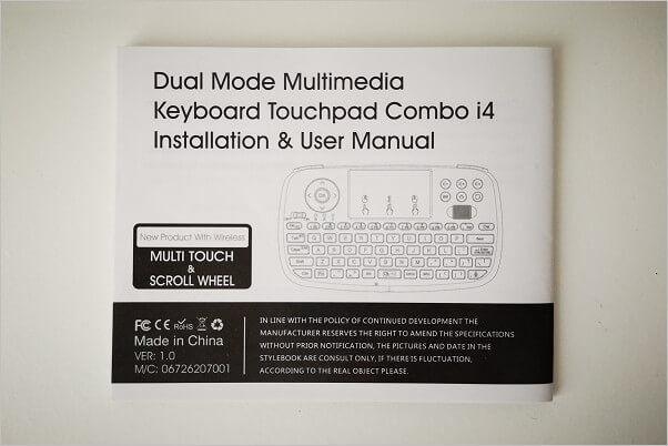 Rii I4 Wireless Keyboard - Affordable Combo Mini Keyboard