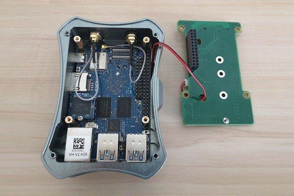 NanoPi M4 Case Kit 9