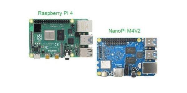 Raspberry Pi 4 vs NanoPi M4V2