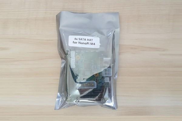 NanoPi M4 SATA HAT Pkg2