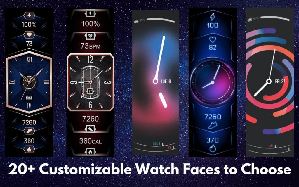 Amazfit X Smartwatch Faces