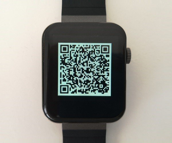 Mi5 Smartwatch QR