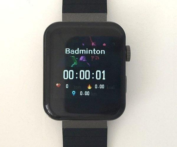 Mi5 watch Sports Mode 1